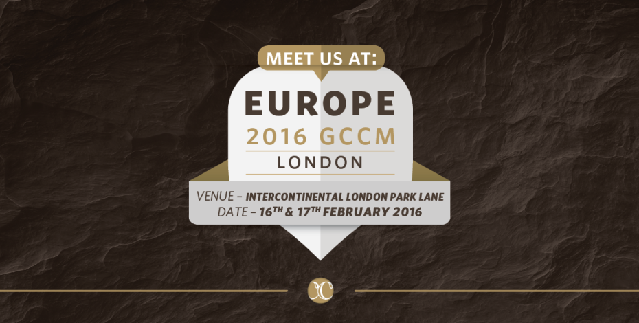 Meet Evolink team at GCCM 2016 in London Image